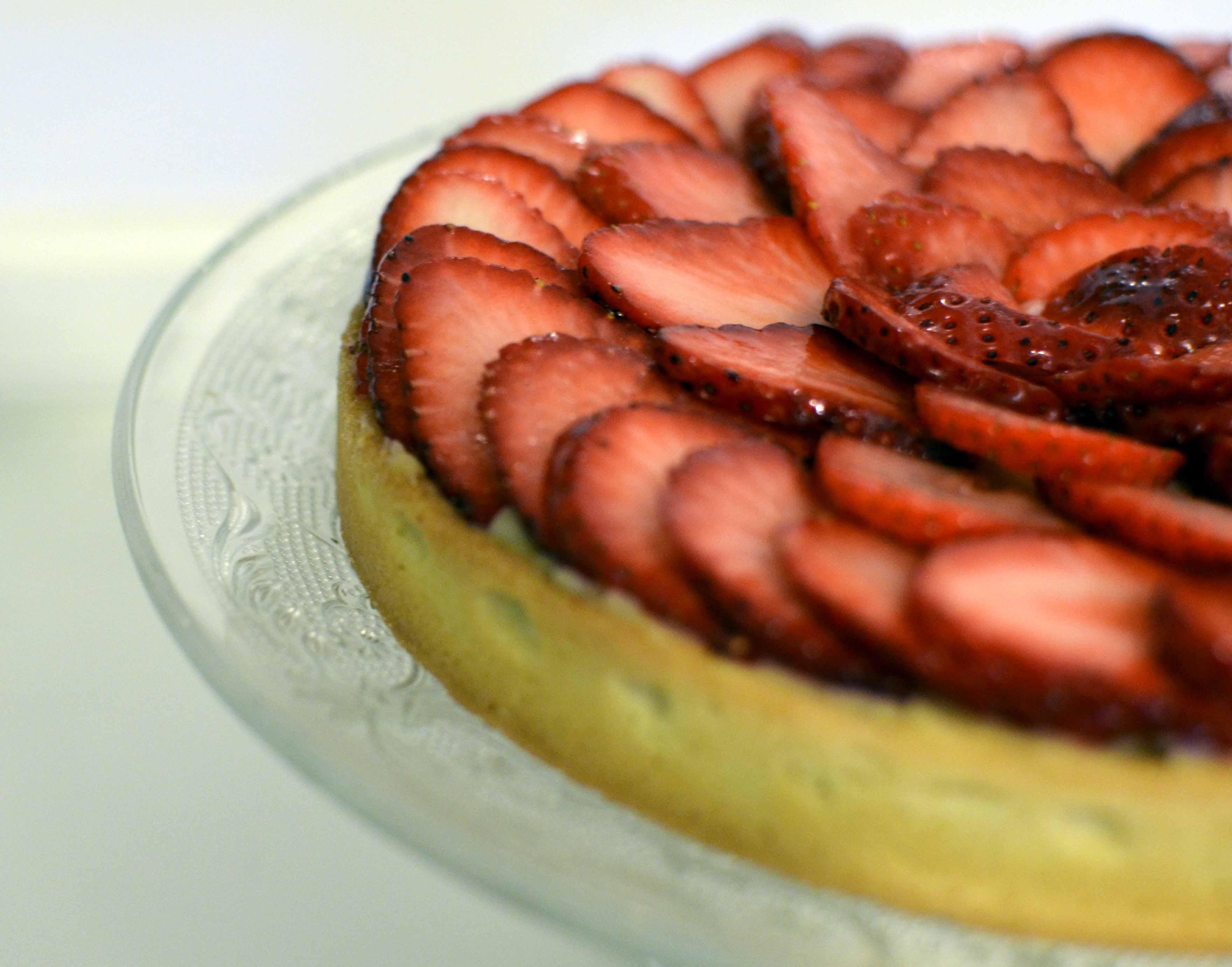 Tarte aux fraises CAP