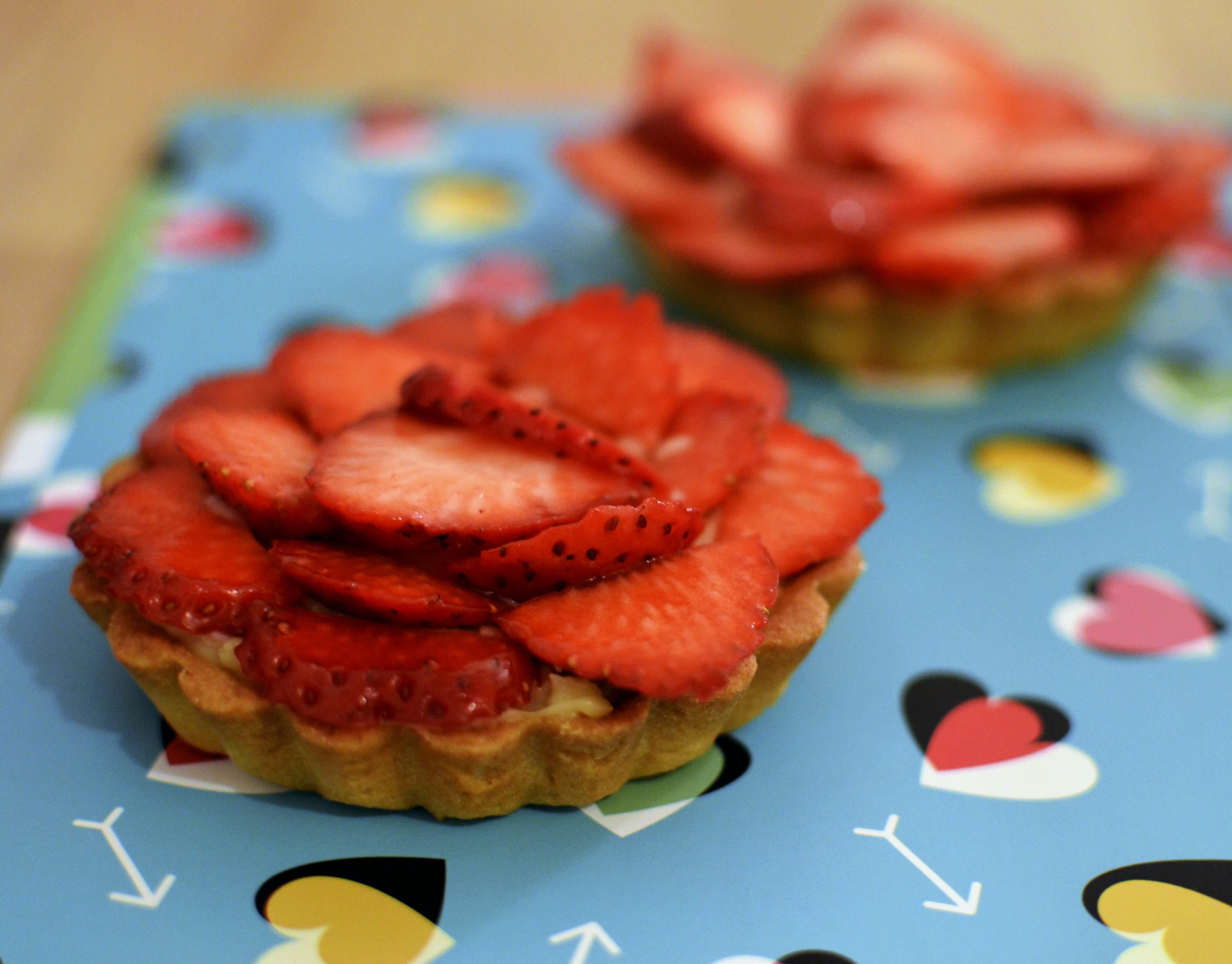 tartelettes aux fraises CAP