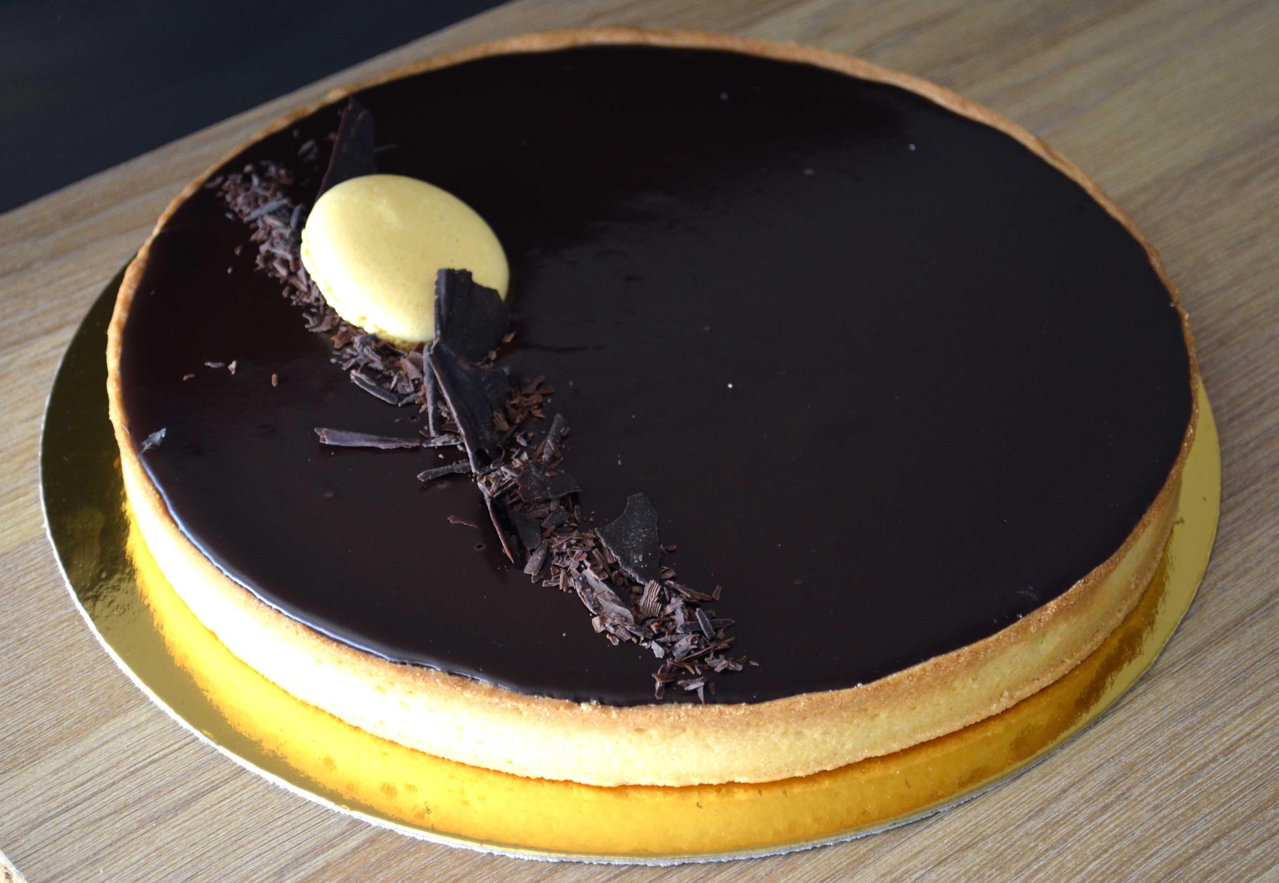 Je viens aujourd\u0027hui vous donner la recette de la tarte au chocolat façon  CAP!!