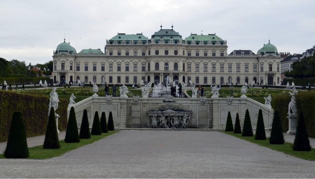 belvedere Vienne Wien