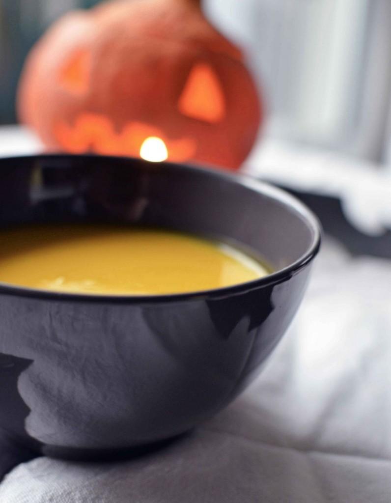 soupe potimarron sans lactose