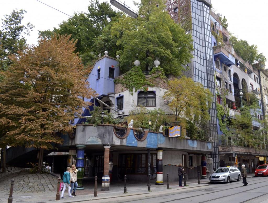 Hundertwasser Vienne Wien