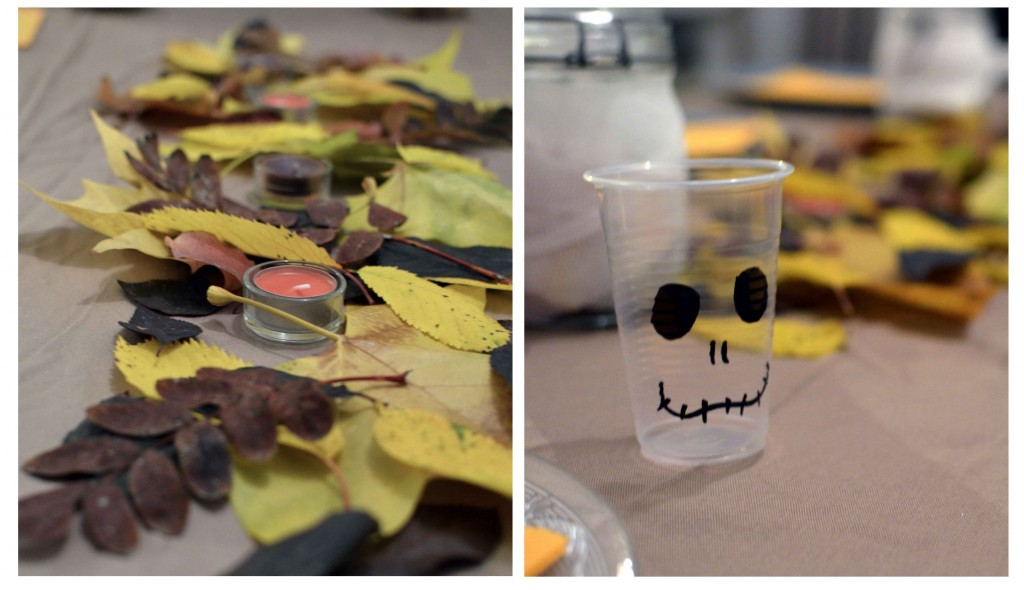 table halloween automne