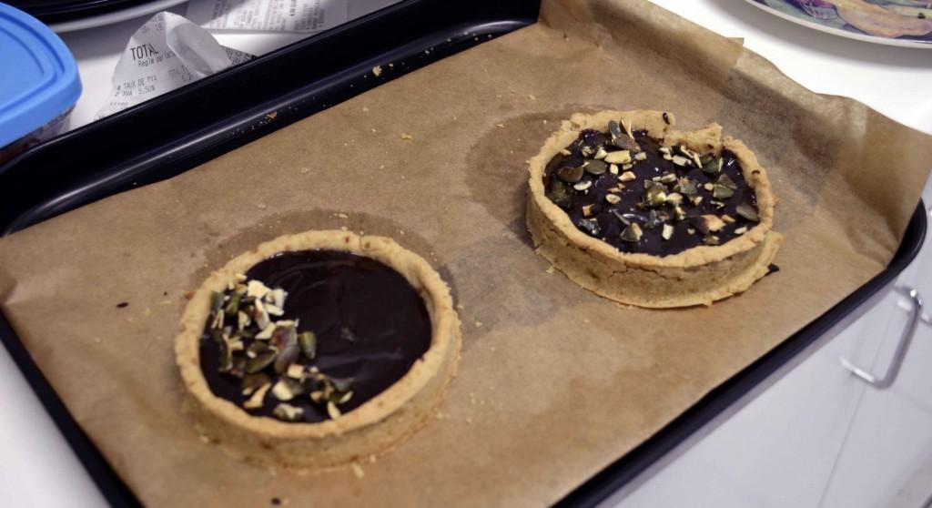 tartelettes chocolat sans lactose sans gluten sans oeuf et sans soja
