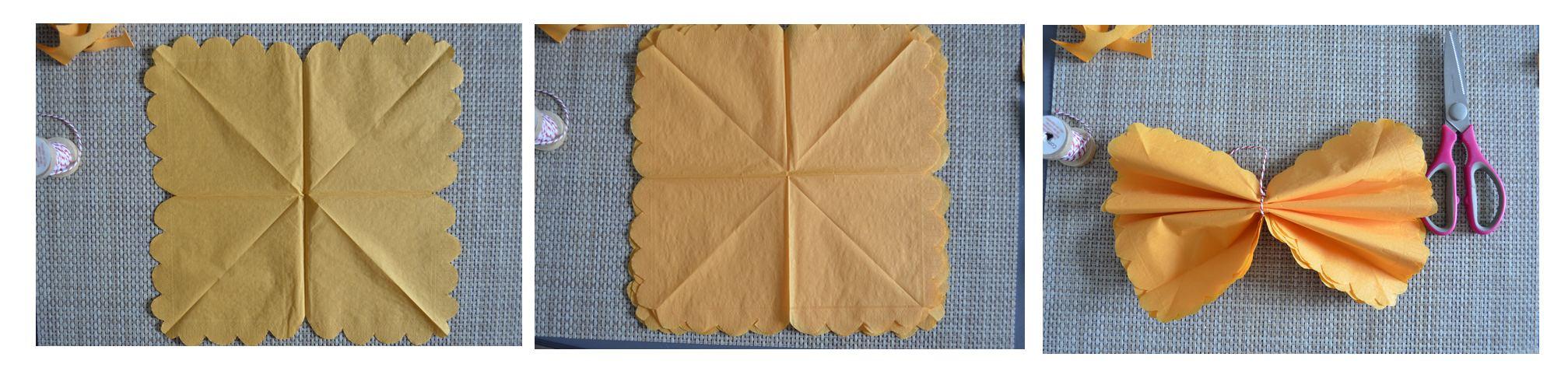 diy pompon avec des serviettes en papier quand julie patisse. Black Bedroom Furniture Sets. Home Design Ideas