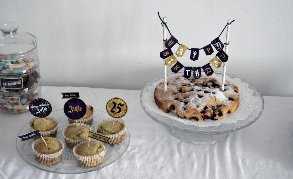 sweet table anniversaire sorcier faites un carton