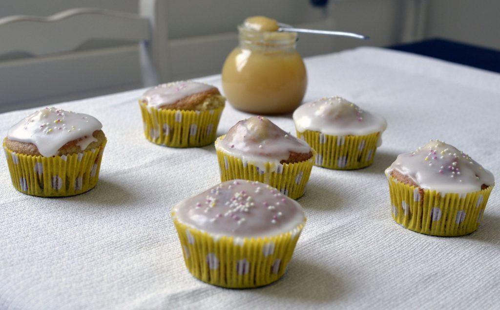 muffin au lemon curd sans gluten