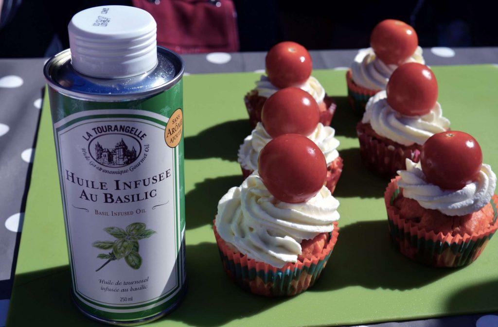 cupcakes tomates basilics