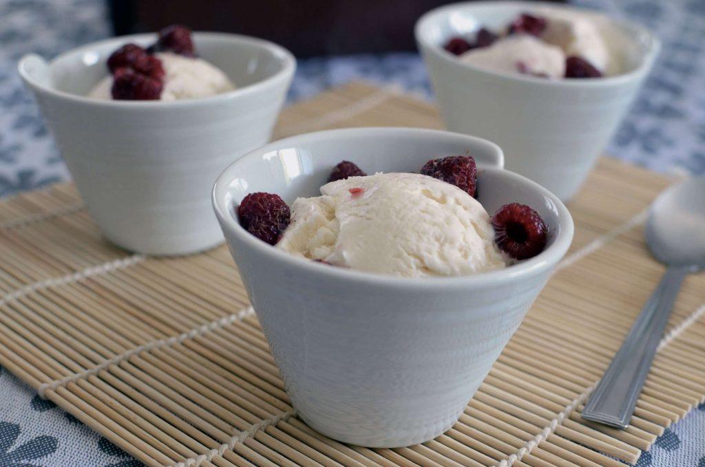 glace vanille express lait concentré