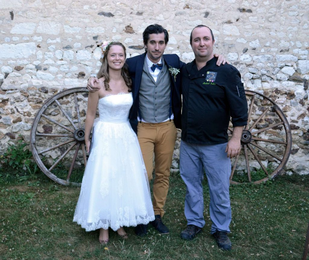 Un mariage avec un arome 2 chefs