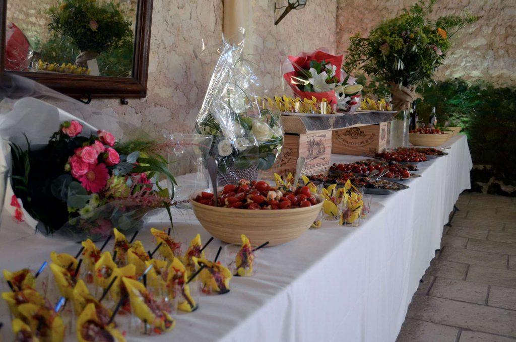 buffet mariage avec un arome 2 chefs