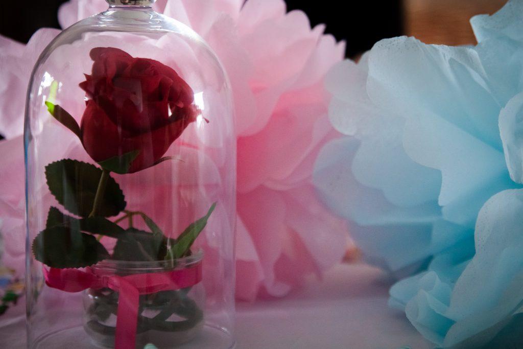 rose du petit prince baby shower