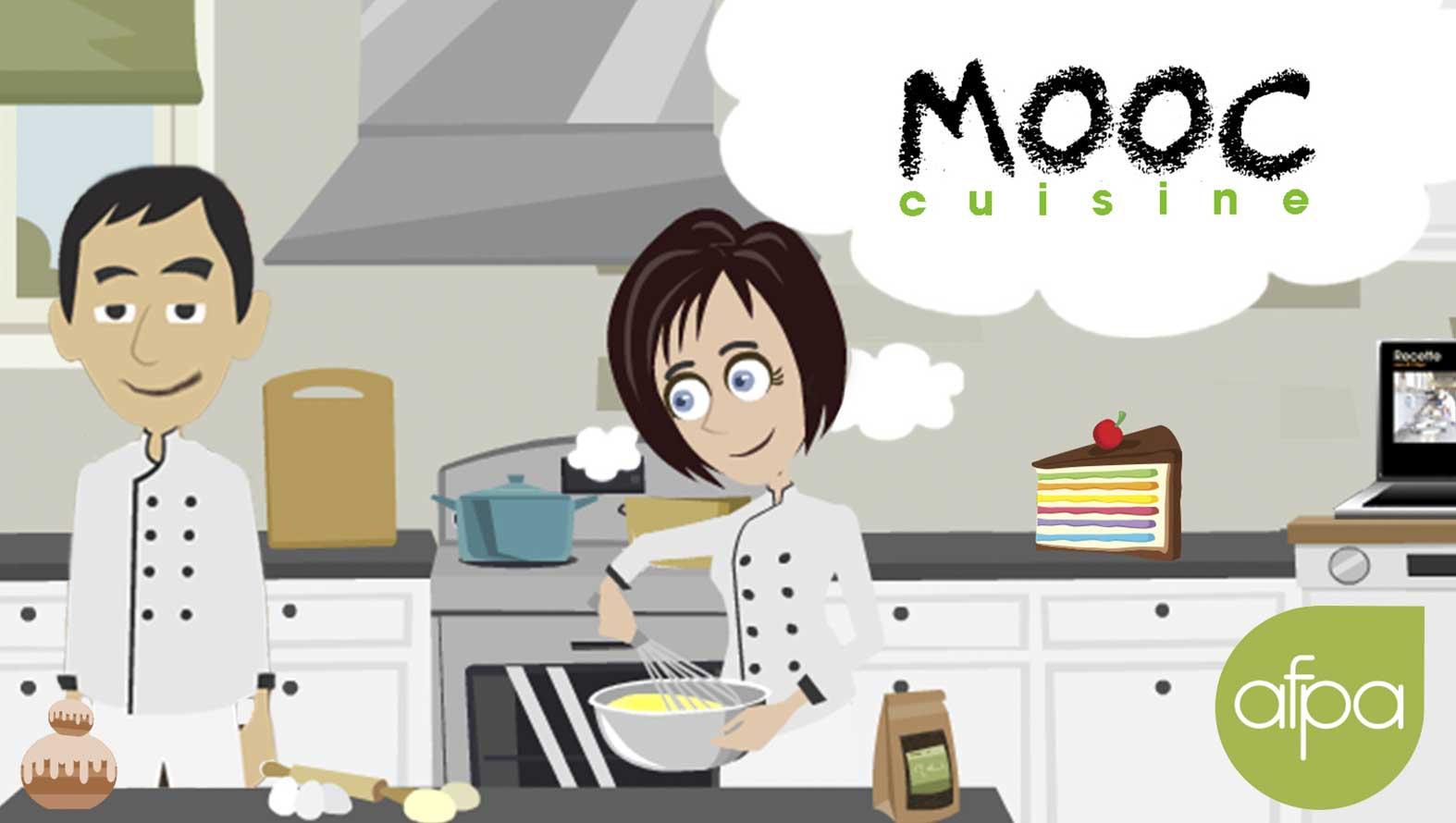 Mooc cuisine sp cial p tisserie par l 39 afpa article for Afpa istres formation cuisine