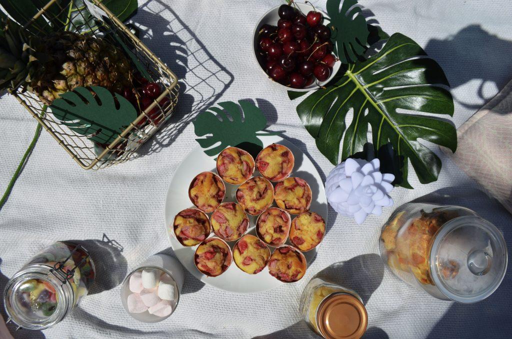 muffins-fraises