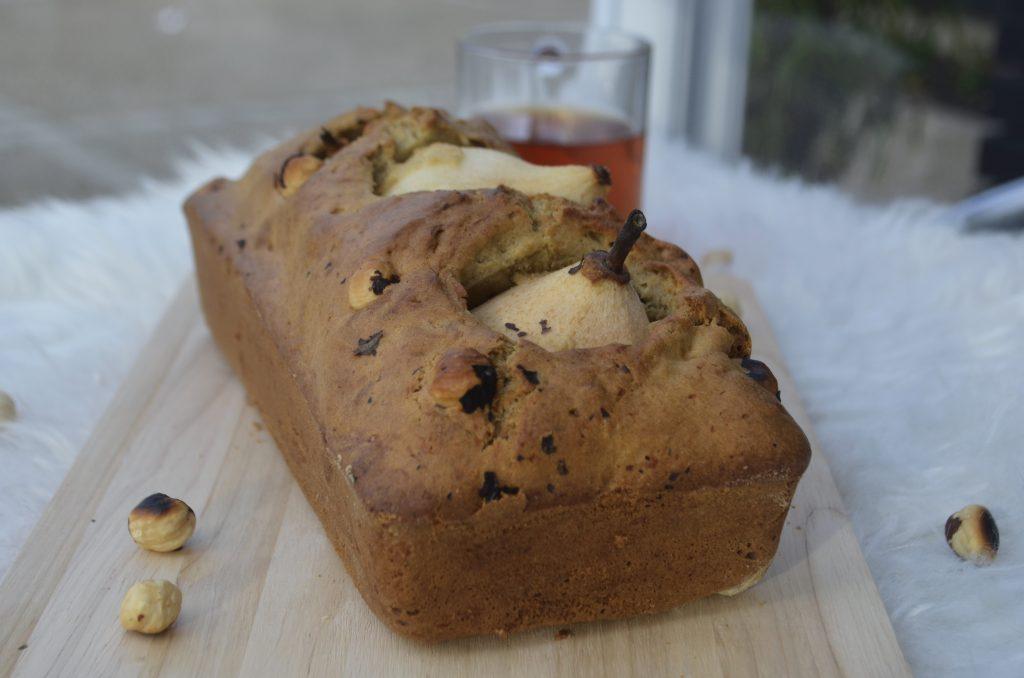 cake poire noisette pateliere