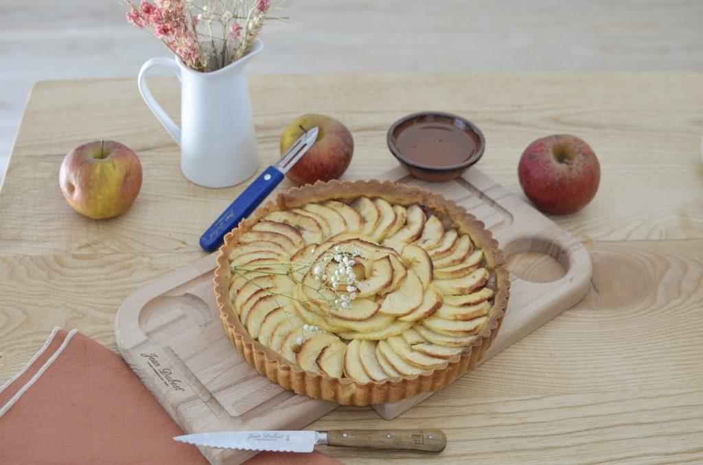 tarte aux pommes et jean dubost