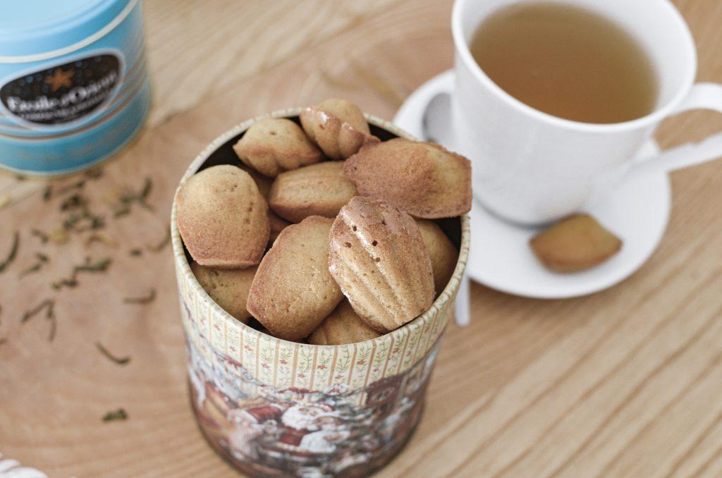 madeleines-au-thé